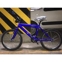 Bicibleta Bimex Color Azul Rodada 20 Nueva