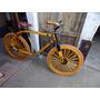 Bicicleta Tipo Antigua De Madera