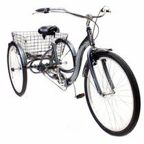 Bicicleta 26 Schwinn Meridian Adult Tricycle Silver