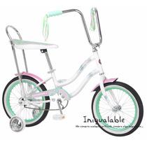 Bicicleta Para Niñas De Schwinn Blanca/turquesa