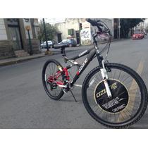 Bicicleta Montaña Ozone Doble Suspensión