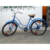 Antigua Bicicleta Cruzier Balona Rodada 26 Restaurada