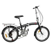 Bicicleta Plegable 20 Ruta Shimano 6 Vel. Transportable