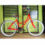 Bicicleta Retro Vintage 36 Rayos Rodada 26 Roja