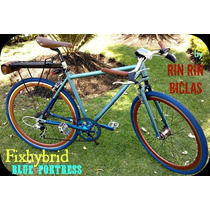 Bicicleta Hibrida Blue Fortress Hardstd Rin Rin Biclas