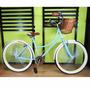 Bicicleta Retro Vintage 144 Rayos Rodada 26 Varios Colores