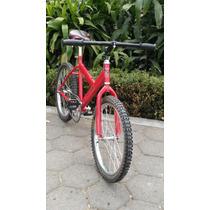Bicicleta R20 Sport Bike Rojo Negro Azul Rosa