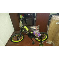 Bicicleta Niño Y Niña Nickelodeon Y Schwinn Rodada 16