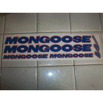 Juego De Calcas Para Bmx. Mongoose