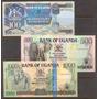 Coleccion De 3 Billetes De Uganda