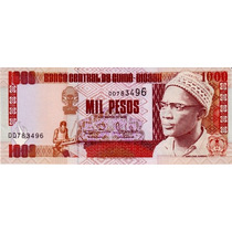 Grr-billete De Guinea Bissau 1000 Pesos 1993