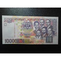 Ghana Billete 10000 Cedis Fecha 2003 Nuevo Unc