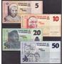 Coleccion De 4 Billetes De Nigeria Actuales