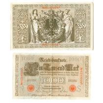 Billete Europa Alemania 1910.....1000 Mark