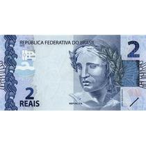 Grr-billete De Brasil 2 Reais 2010 (2013) - Tortuga