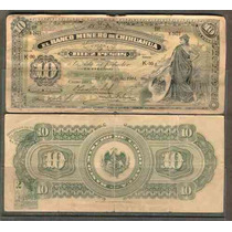 Bk-chi-124 Banco Minero De Chihuahua 10 Pesos