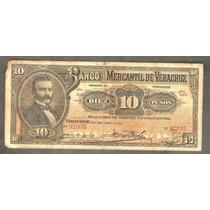 10 Pesos Banco De Veracruz