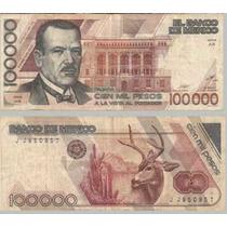 Billete De 100 Mil Pesos Plutarco Elias Calles Envio Gratis