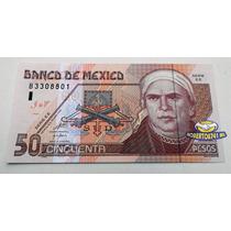 Billete 50 Pesos De Papel, Nuevo Sin Circular, Impecable!!