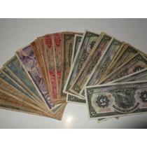 Lote 37 Billetes Antiguos Coleccion Mexico