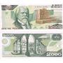 Billete $2000 Justo Sierra, Nuevos Para Coleccion.