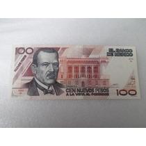 Billete 100 Nuevos Pesos Nuevo Como Lo Vez