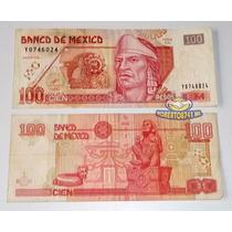 Billete 100 Pesos En Muy Buen Estado