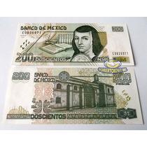 Billete 200 Pesos Nuevo Sin Circular!!