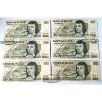 Billete 200 Pesos En Muy Buen Estado