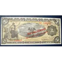 Ganga Billete De 1 Peso Revolucionario Año 1914 Sin Circular