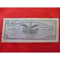 Billete Devolucionario De Saltillo De 50 Centavos.