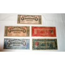 Colección De Billetes Del Estado De Chihuahua.1914 .