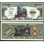 Billete Del Tren (el Caballo De Acero) 1 Millon Dolares