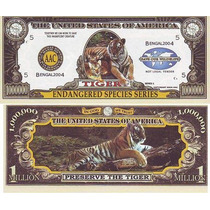 Billete El Tigre: Especies En Peligro (2004)