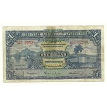Billete Trinidad & Tobago 1 Dolar (1939) Puerto Hwo