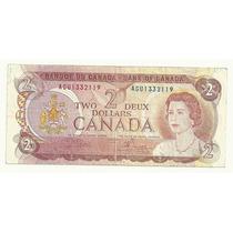 Billete Canada 2 Dolares (1958)