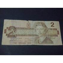 Canada 2 Dolares Fecha 1986