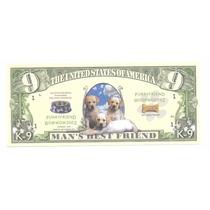 Billete 9 Dolares Perritos (2002) K - 9