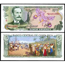Costa Rica 5 Colones1992 Mmu