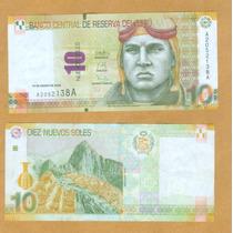 Perú : Billete 10 Pen -nuevos Soles Cent Machu Picchu Mn4
