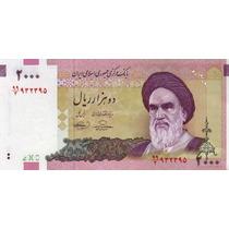 Grr-billete De Irán 2000 Rials 2005, A. R. Khomeini