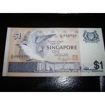 Billete Singapore 1 Dolar 1976