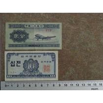 Dos Billetes Orientales Raros (pequeños)