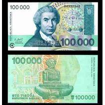 Croacia 100000 Dinara 1993 Vmj