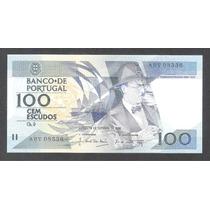Billete De Portugal De 100 Escudos De 1986 Nuevo Unc