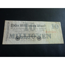 Billete De Alemania, Berlín 1923 10 Millones Mark