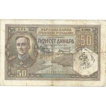 Billete Yugoslavia 50 Dinara (1931) Mdn