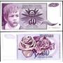 Yugoslavia 50 Dinara 1990 Niño