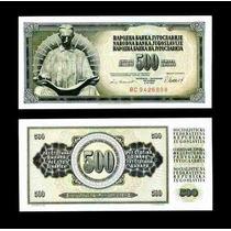 Yugoslavia 500 Dinara 1981 Idd
