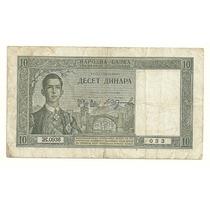 Billete Yugoslavia 10 Dinara (1939) Mdn